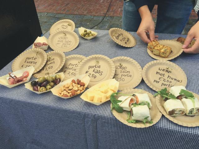 Final Groede Festival foodstand