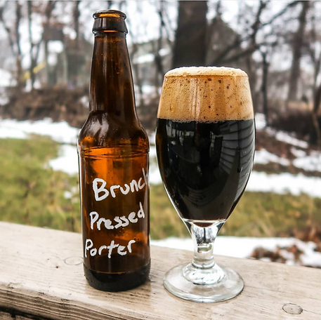 Brunch Press Porter- Our first beer, Cof