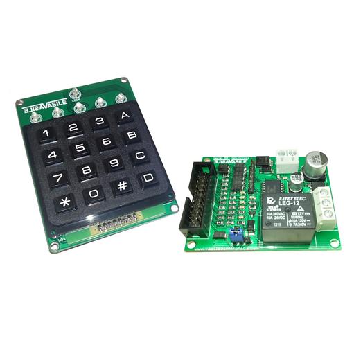 Tastiera elettronica a combinazione con logica separata