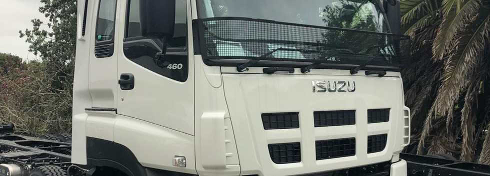 Isuzu Truck Stoneguard