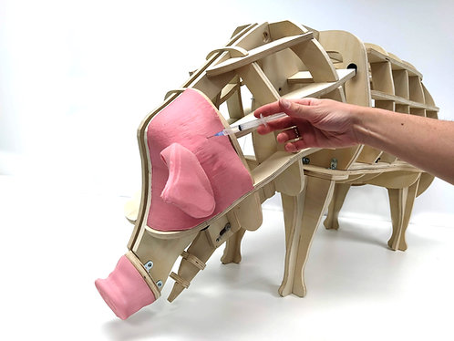Pig Intramuscular Injection Block