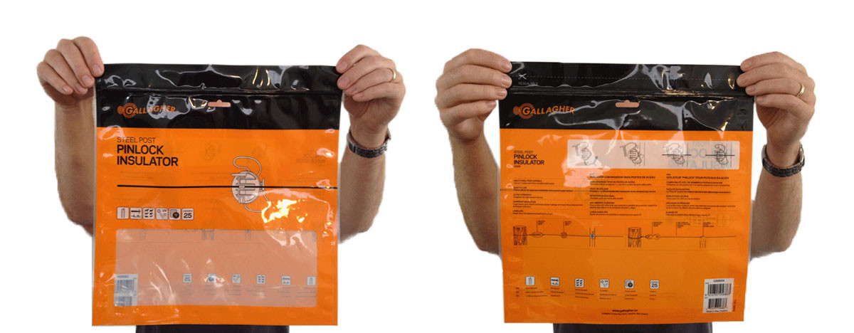 Gallagher Animal Management Packaging