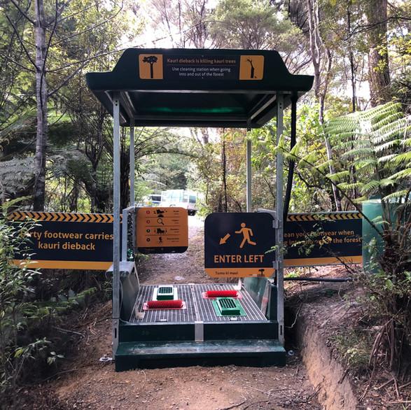 Kauri Dieback Station