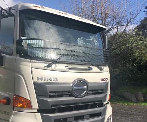 Hino Truck Stoneguard