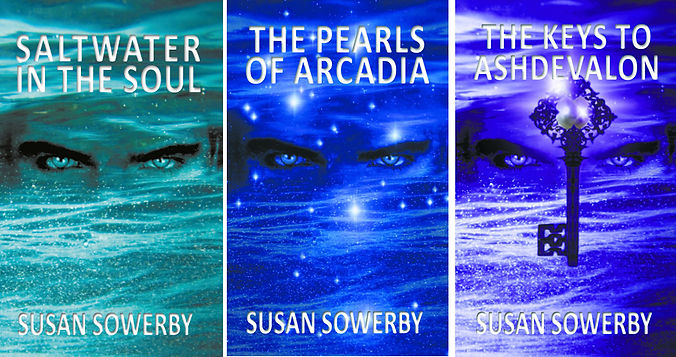 The Saltwater book trilogy