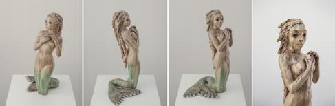 Slider Mermaid sculpture