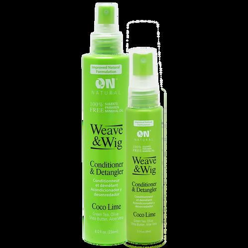 Weave & Wig - Conditioner & Detangler - Coco Lime