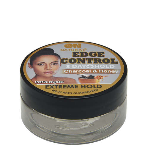 Edge Control Extreme Hold - Charcoal and Honey
