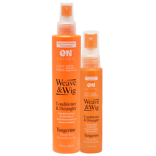 Weave & Wig - Conditioner & Detangler - Tangerine