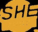 SHEruns official certification mark logo