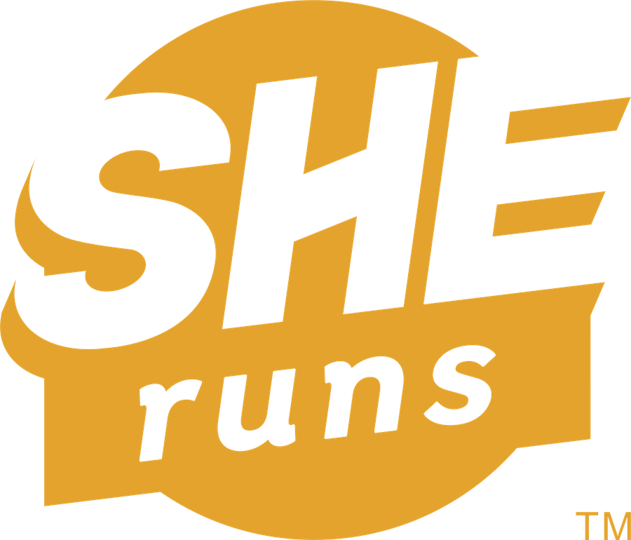 Infographic explaining what the SHE Marks mean: at least 50+% of the people in management (SHEruns), creative positions (SHEmakes), and/or ownership (SHEowns) are women