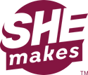 SHEmakes official certification mark logo