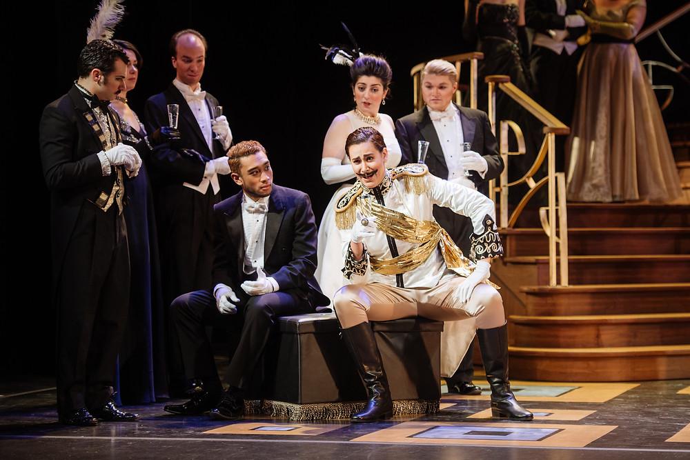 Orlofsky- Die Fredermaus- Opera McGill- Credit: Brent Calis