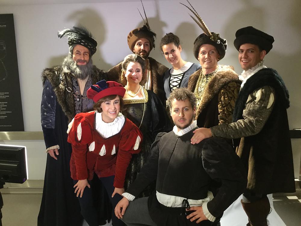 La gang de l'Atelier dans Rigoletto