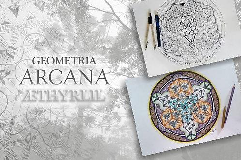 Geometria Arcana Personalizada. Sua assinatura de alma criada apenas para você.