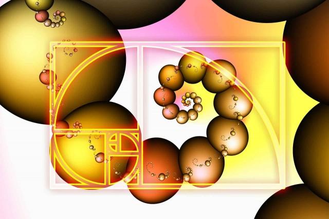 A espiral dourada de Fibonacci