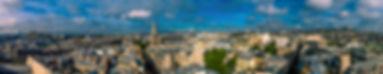 Panorama 360 sur paris par drone inspire x5