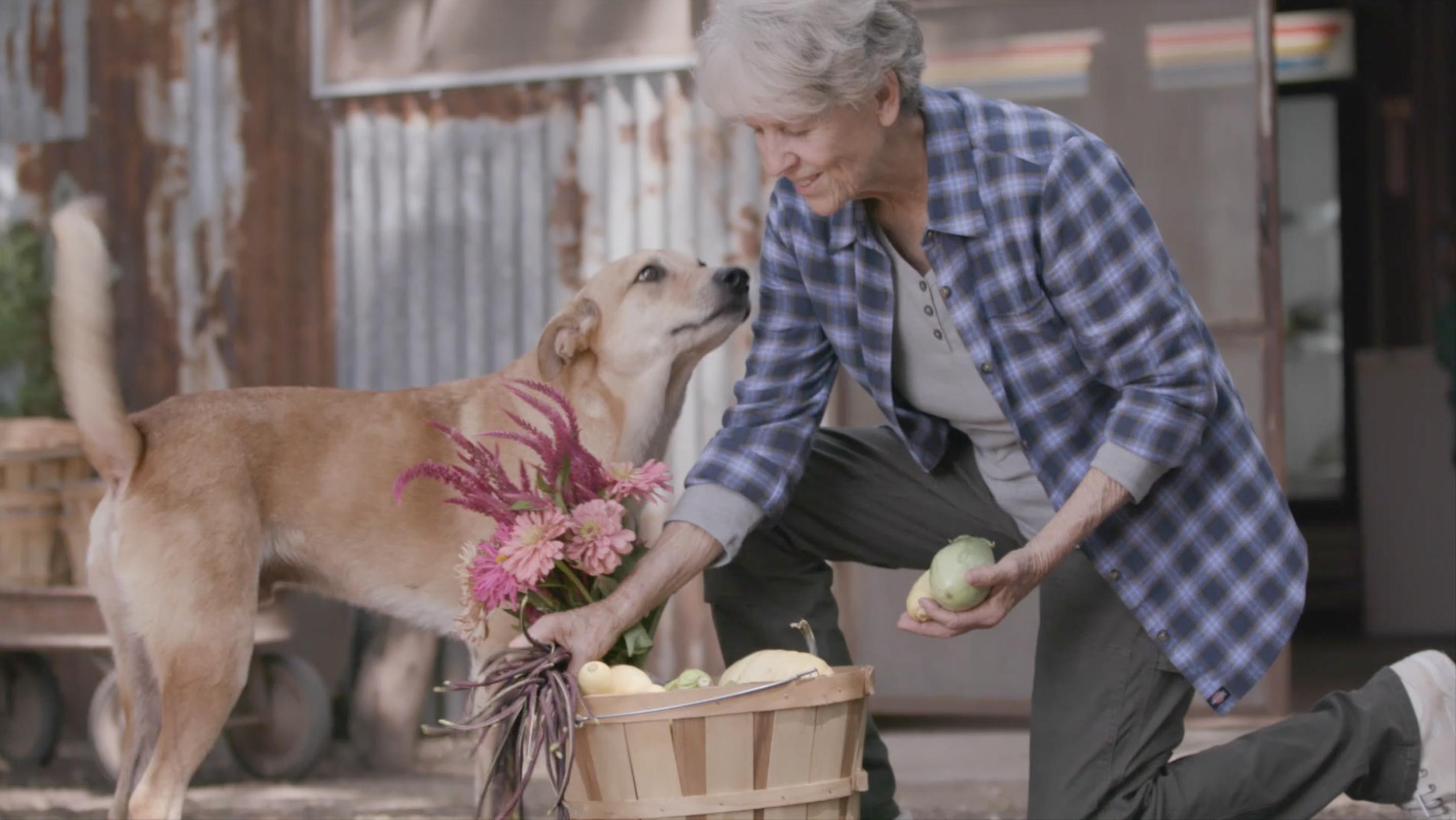 Carol Ann, Buddy the Farm Dog
