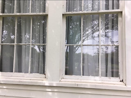Old Windows in Desperate Need of Resoration