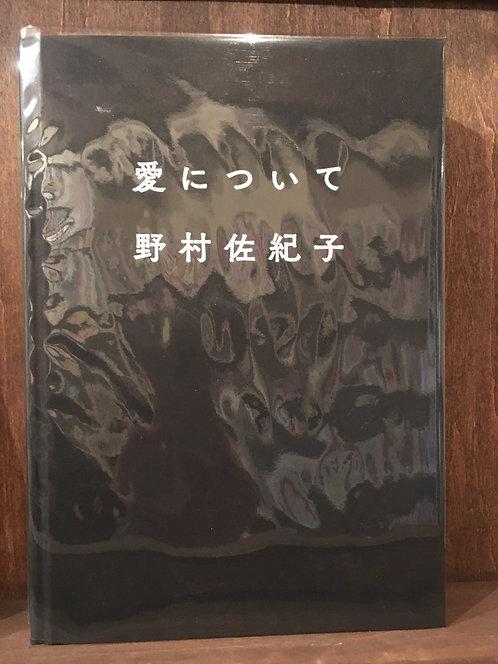 【古本】野村佐紀子『愛について』(ライスプレス)