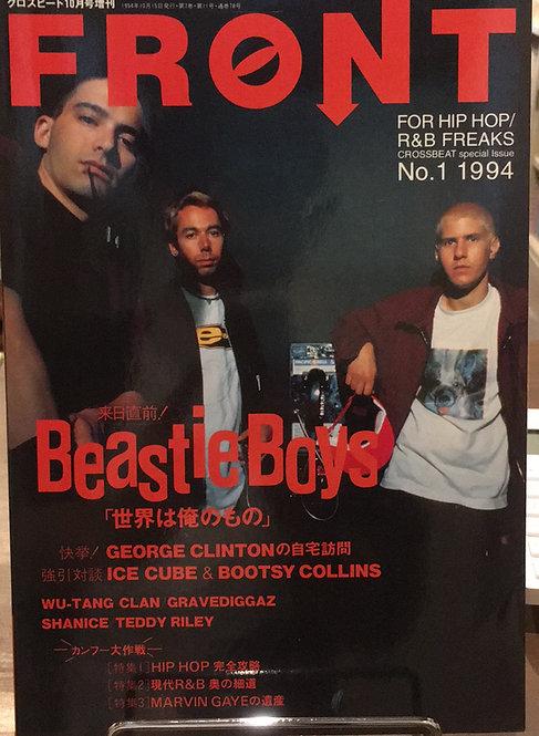 【古本】『FRONT 1994 No.1』(シンコーミュージック)