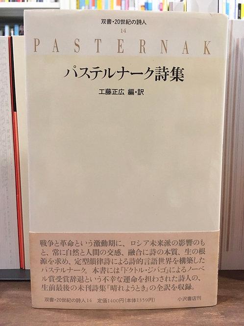 『パステルナーク詩集 双書・20世紀の詩人 14』(小沢書店)