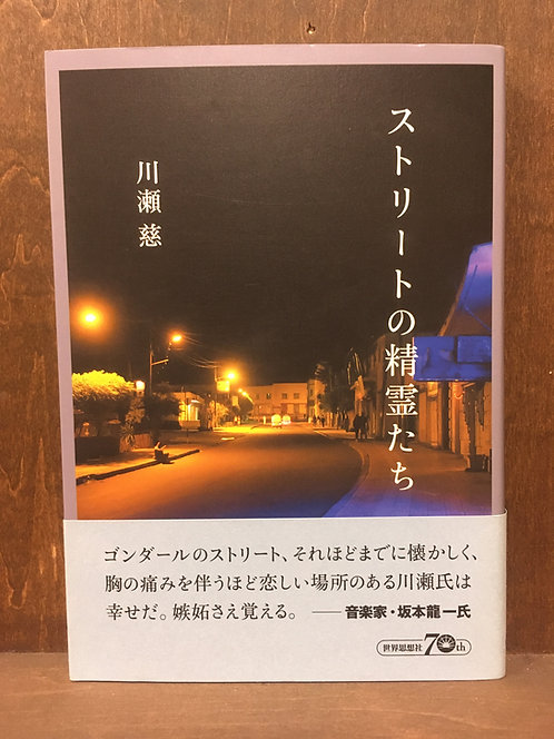 川瀬慈『ストリートの精霊たち』(世界思想社)