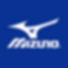 blue square - white mizuno logo.png