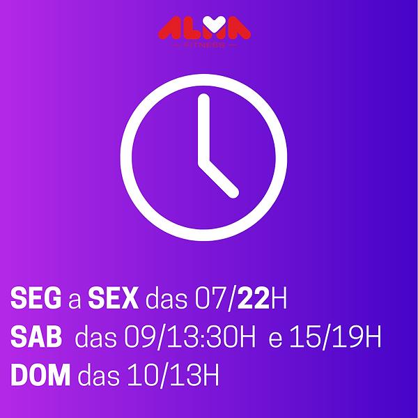 SEG a SEX das 0721H SAB das 0913H DOM da