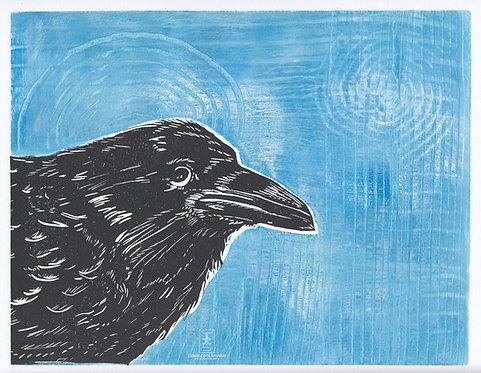 Raven's Play 5 Mixed Media