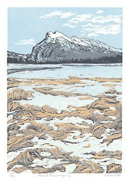 Mount Rundle, Spring (unframed)