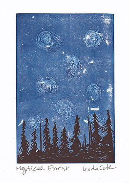 Mystical Forest Card