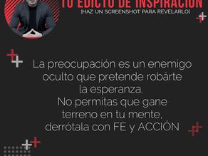 Edictos de Inspiración 20 de Julio