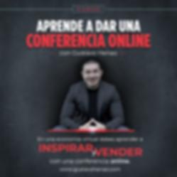 CURSO CONFERENCIA ONLINE SPEAKER GUSTAVO