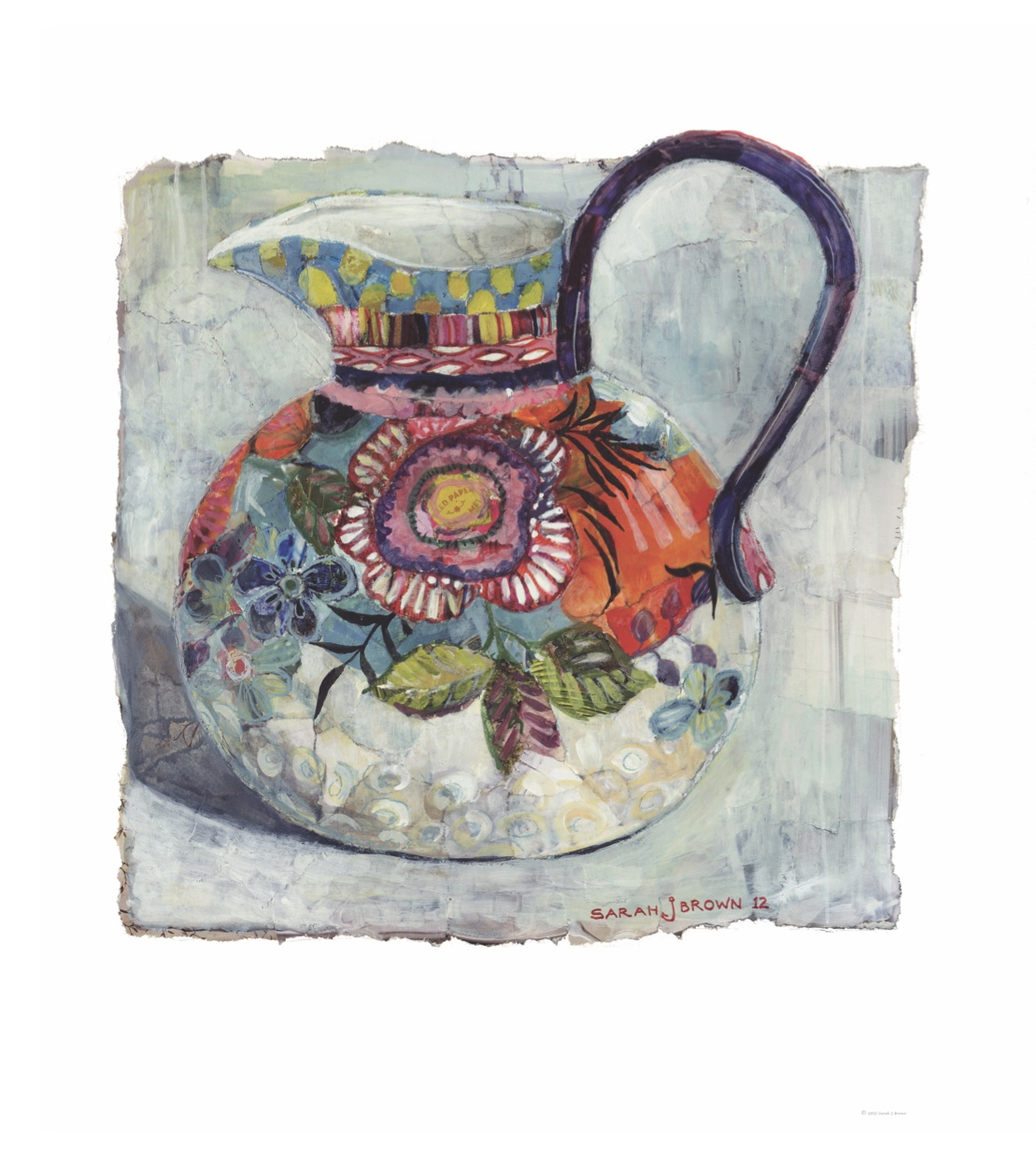 A Painter's Jug