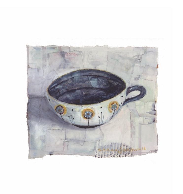 Indigo Tea Cup