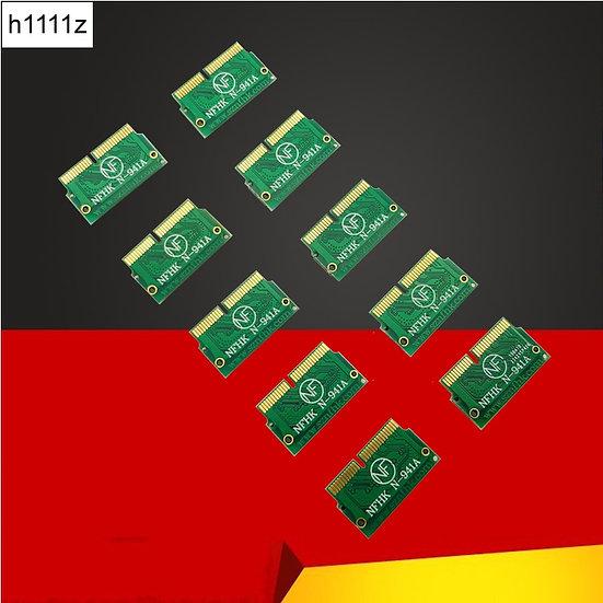 10PCS NVMe PCIe M.2 M Key M2 SSD Pro Retina A1398 A1465/6