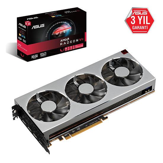 ASUS RADEONVII-16G 7nm 16GB HBM2 4096BIT 1HDMI 3DP EKRAN KARTI