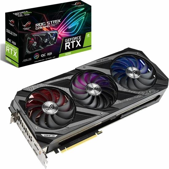 Asus GeForce RTX 3090 OC 24GB 384Bit GDDR6X (DX12) PCI-Express 4.0 Ekran Kartı