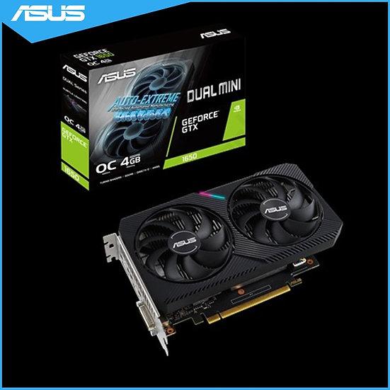 Asus DUAL-GTX1650-O4GD6-MINI NVIDIA GeForce® GTX 1650 OC Edition 4GB GDDR6