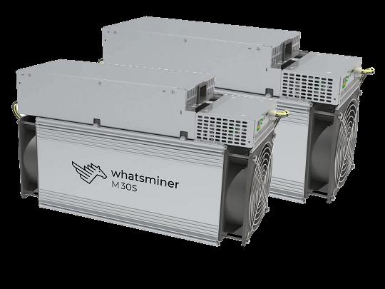 MicroBT Whatsminer M30S 88Ths  Bitcoin Miner – SHA-256 algorithm