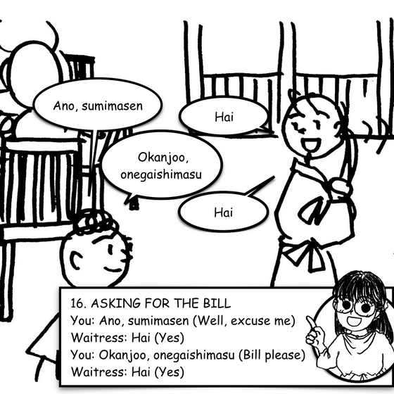 Lesson 16 - Asking For The Bill