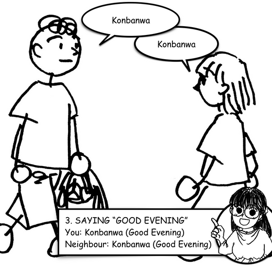 "Lesson 3 - Saying ""Good Evening"""