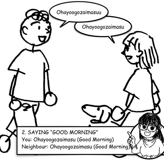 "Lesson 2 - Saying ""Good Morning"""