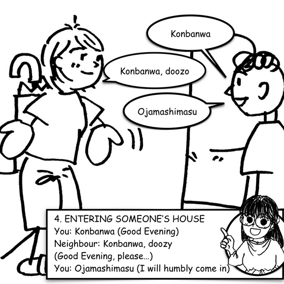 Lesson 4 - Entering Someone's House