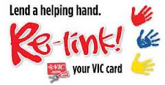 Relink your VIC Card