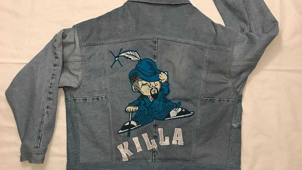 1 of None Up-cycled Denim Jacket