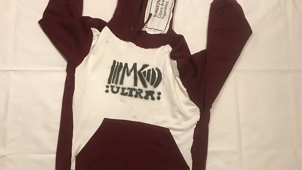 """MK ultra """"A Homeless Hoodie"""""""