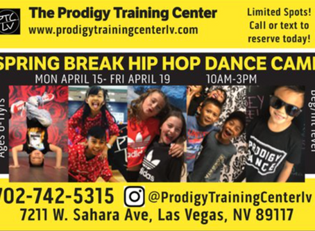 SPRING BREAK HIP HOP CAMP!