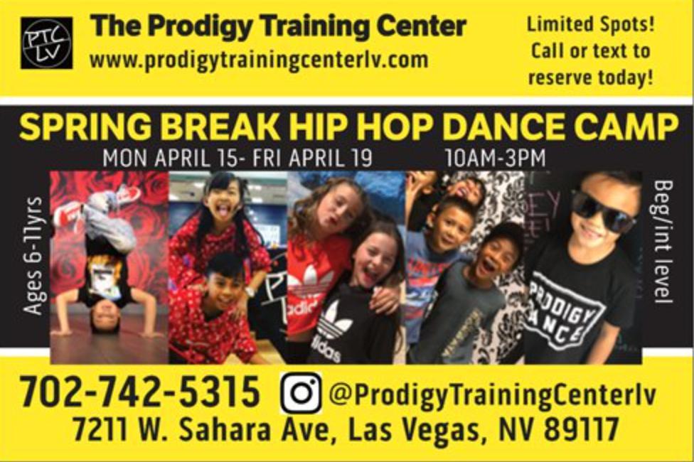 PRODIGY TRAINING CENTER SPRING BREAK DANCE CAMP